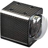 STARTERSET: Boxy Uhrenbeweger Fancy Brick Carbon - von Beco-Technic- (mit Stromadapter) ...